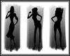 :) silhouette Triple