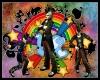 Rainbow Rocker Top