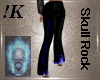 Skull Rock Leather Pants