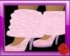 Pink leg warmers