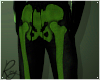 Green Skelly Joggers