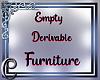 DRV Empty Furniture