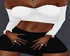 !P! Sweater Bra White