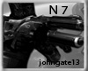N 7 Gun w/sounds