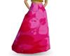 mn pink flower dress