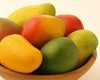 Healthy Bowl Of Mangos