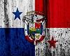 Panama Grunge Flag