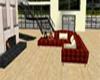 (S)Mahogany 10p couch