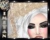 (MI) White Xmas hat