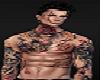 Male Avatar Tattoo Scars