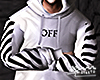 White Off Hoodie