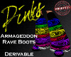 Armageddon Rave Boots