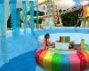 rainbow water raft