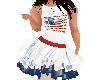 Flat USA butterfly fit