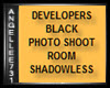 BLACK PHOTO SHOOT ROOM