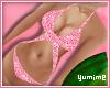 [Y] Glitter Bkni ~ Pink!