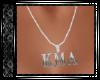KMA Silver Diam Necklace