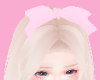 ♡ lil pink bow