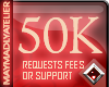 MAy™ 50K Request|Support