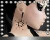 Rach* Black Star Earings