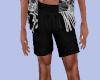 [B] Black Summer Shorts