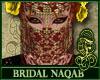 Bridal Naqab Red