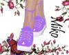 unholy gym shoes  lilac