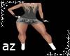 Tops+ Skirt + Boots