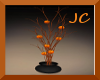 ~LightedPumpkinTree Vase