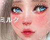 """A"" Glossy Redish Cheek"