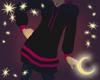 Black/Pink Hoodie W/Jean