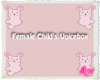 Female Child's Voicebox
