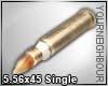!5.56x45mm Bullet Single