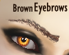 Detailed Brown Eyebrows