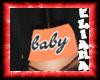 bandana baby naranja