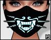 ₄ Blue Neon Mask