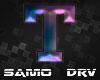 T Letter Colored Drv