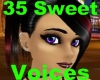 %)35 Sweet Female Voices