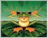 Animated frog..