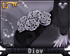 *D* Aliza Shoulder Roses