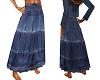 TF* Denim Long Skirt