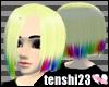 Nina: Blonde & Rainbow