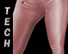 Pink Leather Jeans