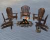 Chillaxing Bonfire