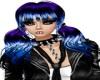 Tiesha Black Purple Blue