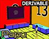 ♂ Room Derivable 7
