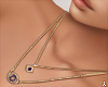 $ Gold Eye Necklaces