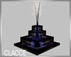 C brown wood fountain
