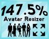 Avatar Scaler 147.5%