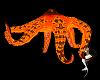 Ocean Orange Octopus